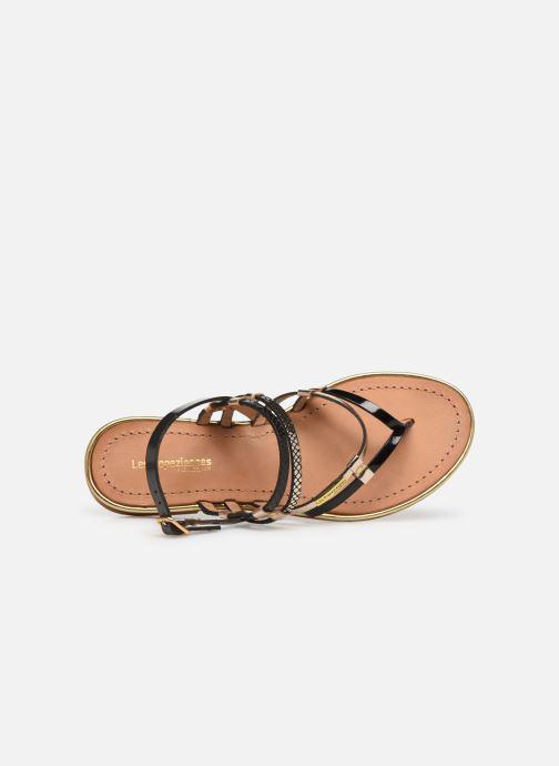 Sandales et nu-pieds Les Tropéziennes par M Belarbi Cumin Noir vue gauche