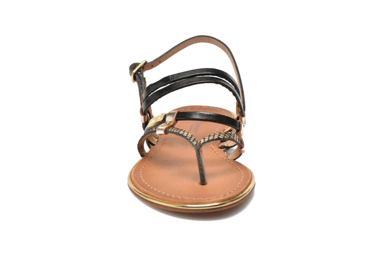 Sandales et nu-pieds Les Tropéziennes par M Belarbi Cumin Or et bronze vue portées chaussures