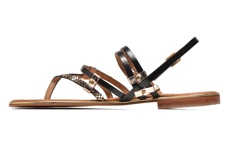 Sandales et nu-pieds Les Tropéziennes par M Belarbi Cumin Or et bronze vue face