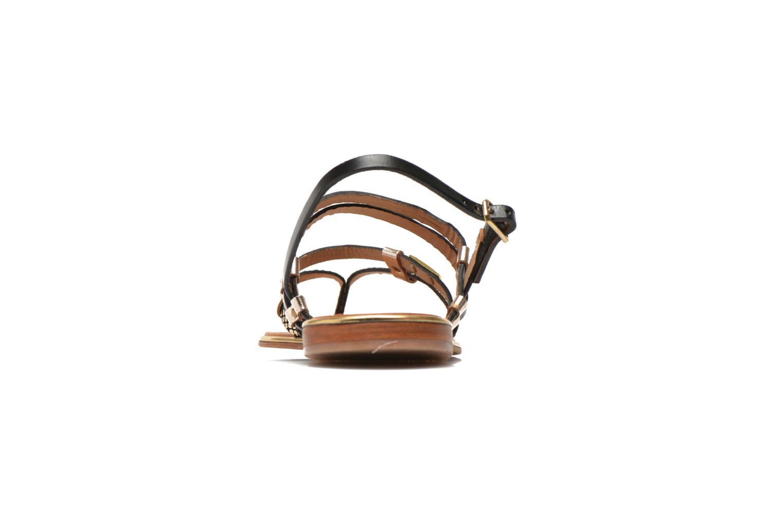 Sandales et nu-pieds Les Tropéziennes par M Belarbi Cumin Or et bronze vue droite
