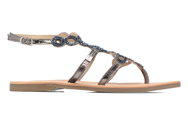 Sandales et nu-pieds Les Tropéziennes par M Belarbi Ofelie Gris vue derrière
