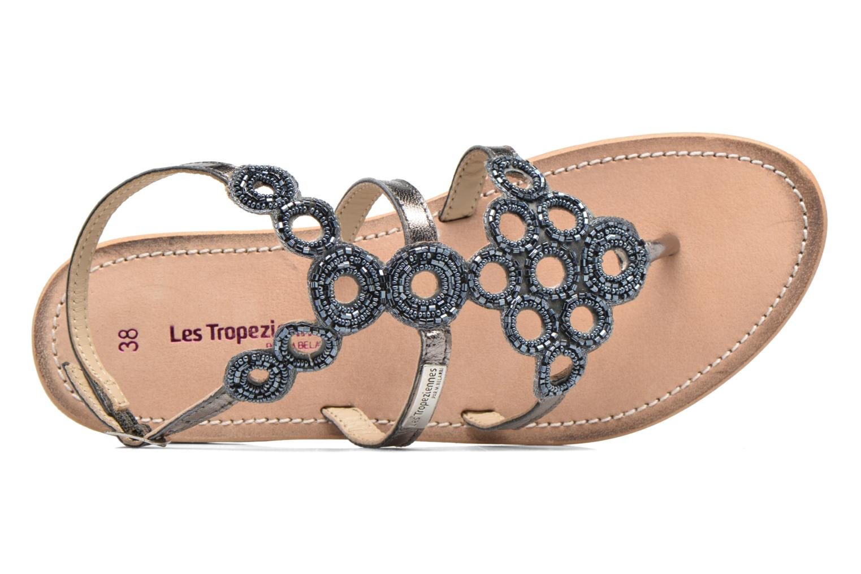 Sandales et nu-pieds Les Tropéziennes par M Belarbi Ofelie Gris vue gauche