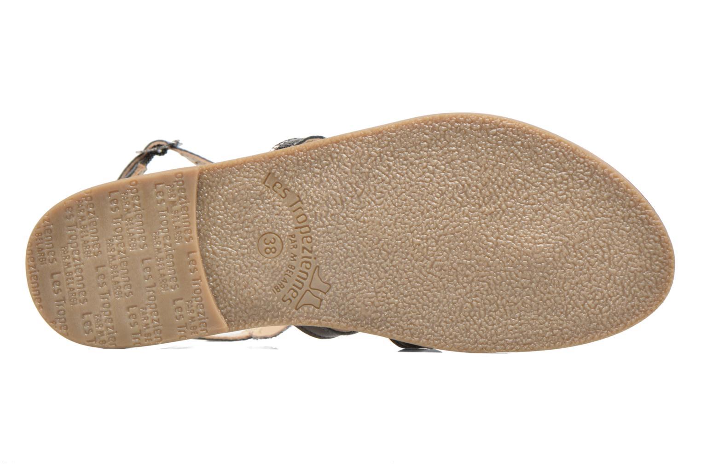 Sandales et nu-pieds Les Tropéziennes par M Belarbi Ofelie Gris vue haut