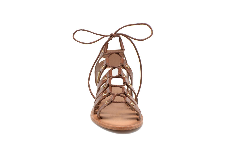 Sandalen Les Tropéziennes par M Belarbi Marilyn braun schuhe getragen