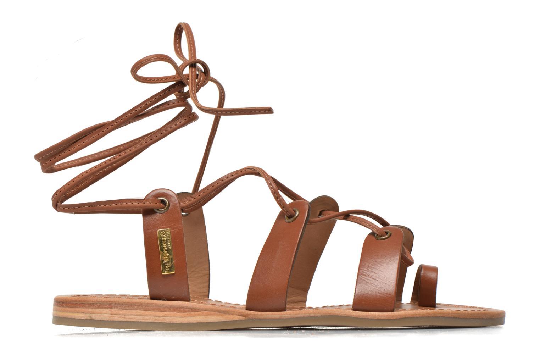 Sandales et nu-pieds Les Tropéziennes par M Belarbi Bird Marron vue derrière
