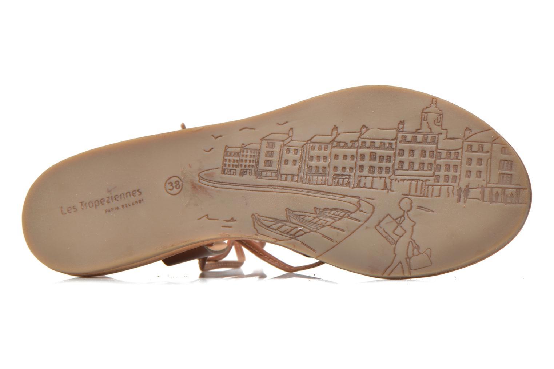 Sandales et nu-pieds Les Tropéziennes par M Belarbi Bird Marron vue haut