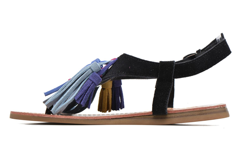 Sandales et nu-pieds Les Tropéziennes par M Belarbi Gorby Noir vue face