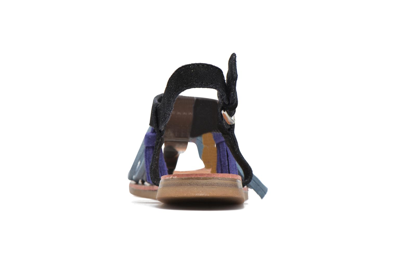 Sandales et nu-pieds Les Tropéziennes par M Belarbi Gorby Noir vue droite