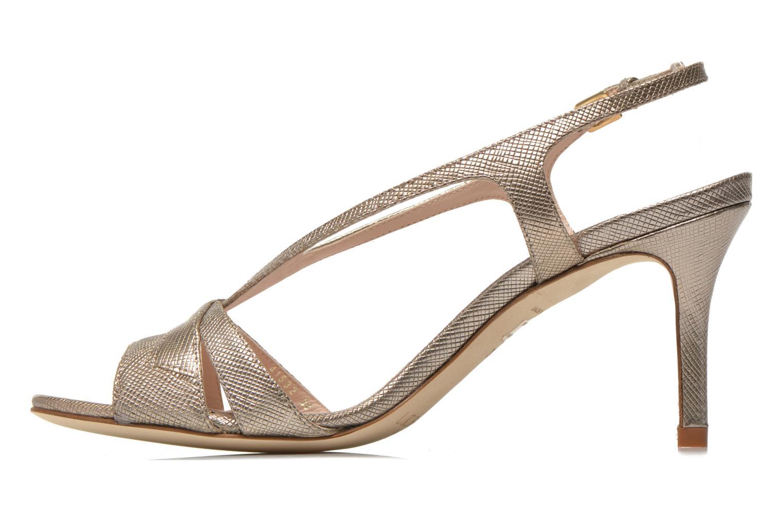 Sandales et nu-pieds L.K. Bennett Diana Or et bronze vue face