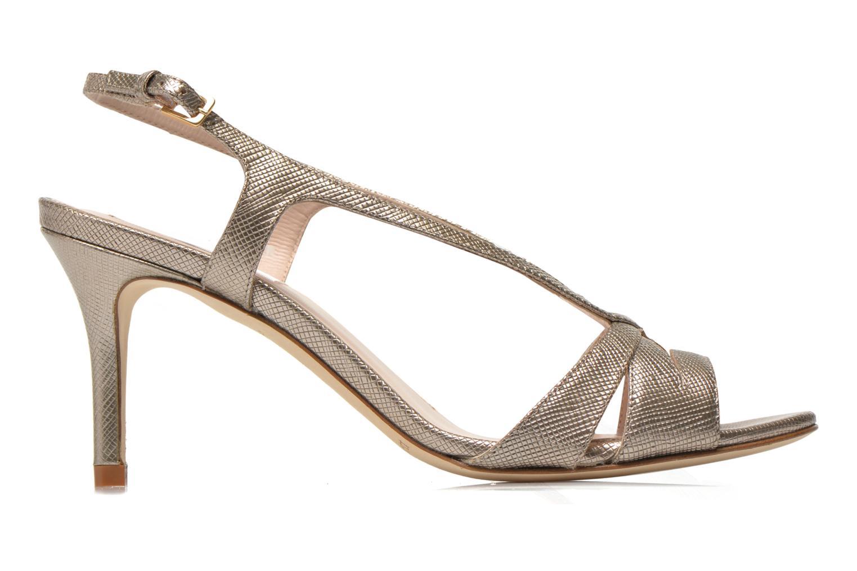 Sandales et nu-pieds L.K. Bennett Diana Or et bronze vue derrière