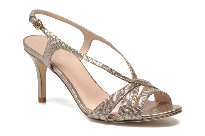 Sandales et nu-pieds L.K. Bennett Diana Or et bronze vue détail/paire