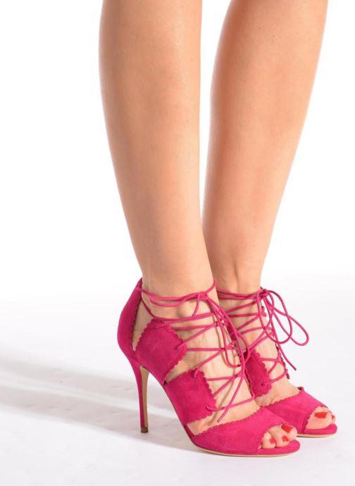 Sandales et nu-pieds L.K. Bennett Jerry Rose vue bas / vue portée sac