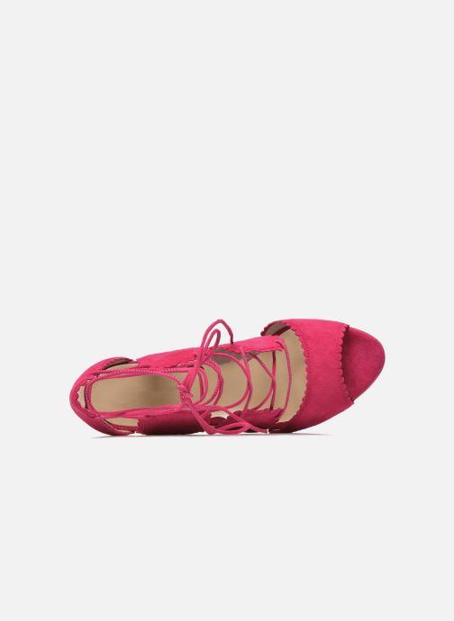 Sandali e scarpe aperte L.K. Bennett Jerry Rosa immagine sinistra