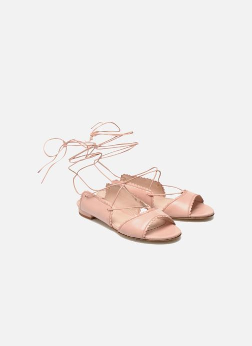 Sandals L.K. Bennett Jackies Pink 3/4 view