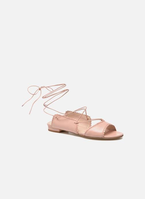 Sandals L.K. Bennett Jackies Pink detailed view/ Pair view