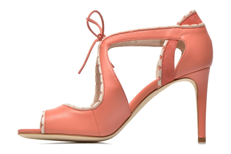 Sandales et nu-pieds L.K. Bennett Miki Orange vue face