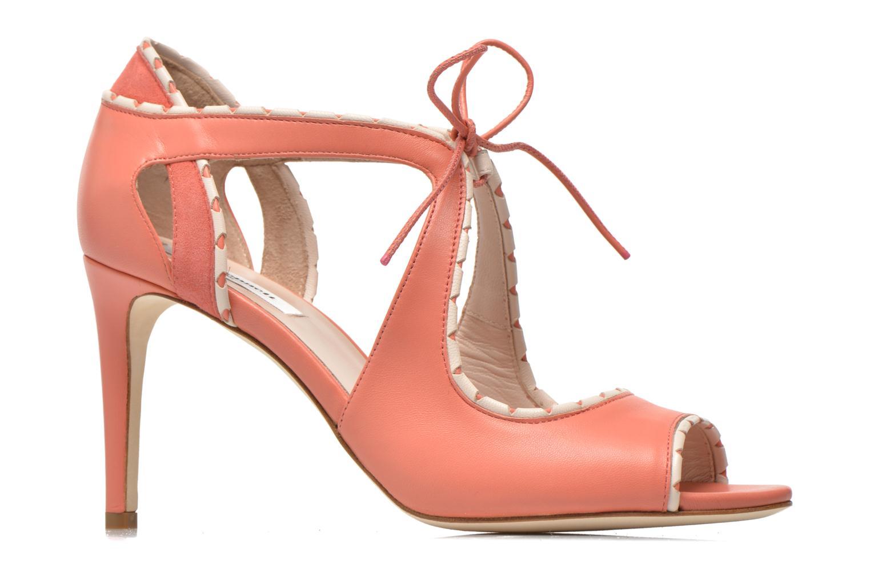 Sandales et nu-pieds L.K. Bennett Miki Orange vue derrière