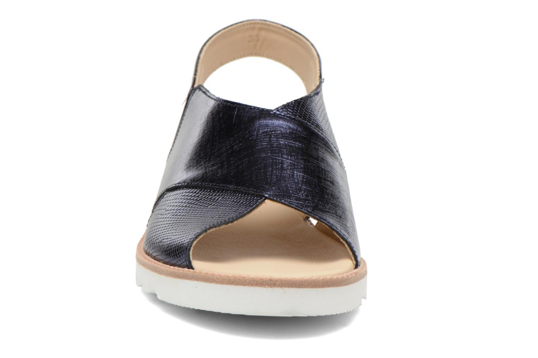 Sandales et nu-pieds MAURICE manufacture Suzan Bleu vue portées chaussures