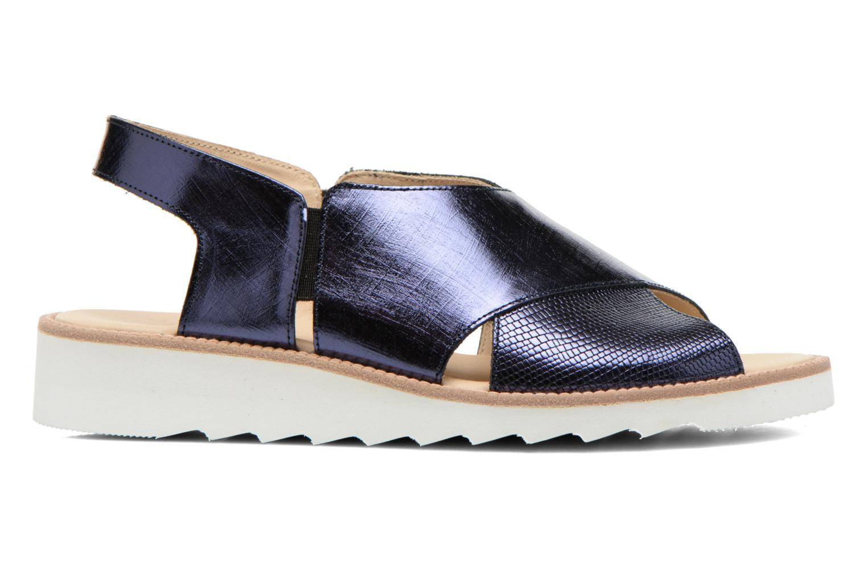 Sandales et nu-pieds MAURICE manufacture Suzan Bleu vue derrière