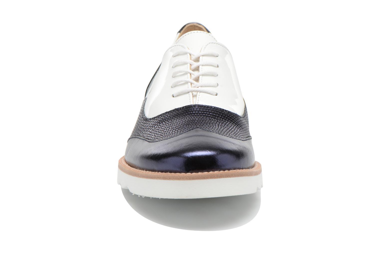 Chaussures à lacets MAURICE manufacture Silva Blanc vue portées chaussures
