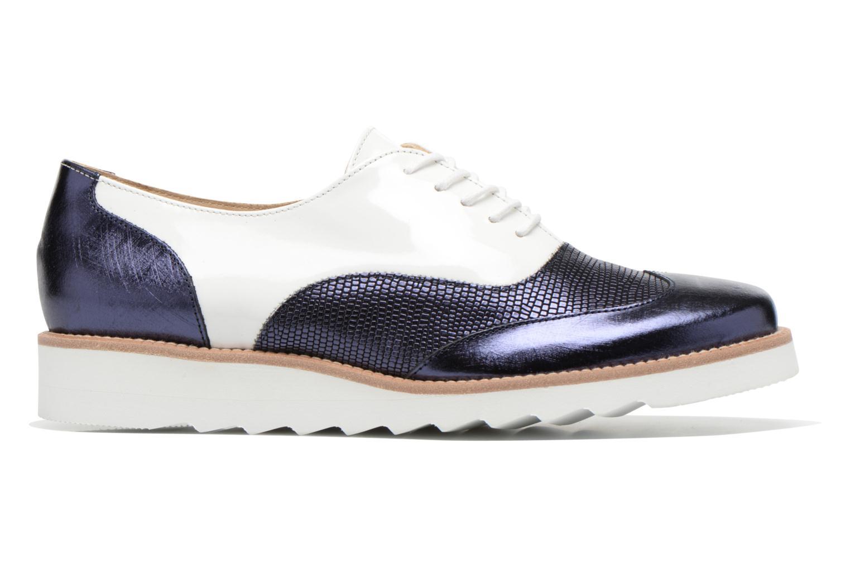 Chaussures à lacets MAURICE manufacture Silva Blanc vue derrière