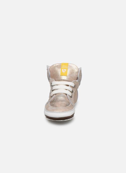 Baskets Shoesme Baby-Proof smart Or et bronze vue portées chaussures