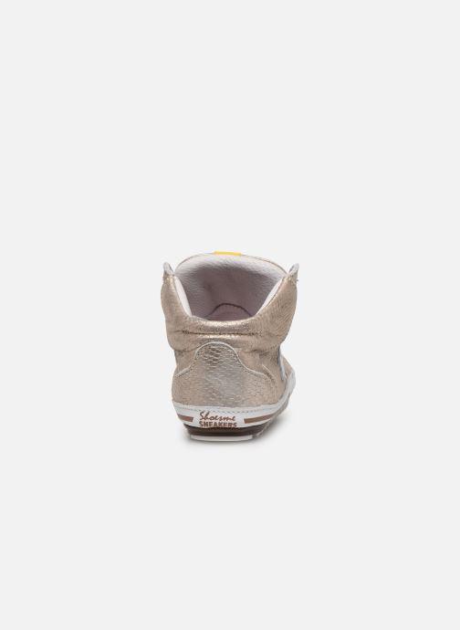 Baskets Shoesme Baby-Proof smart Or et bronze vue droite