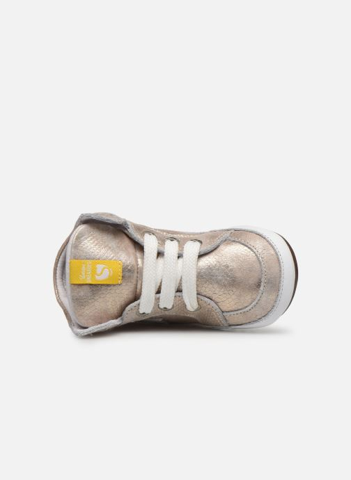 Baskets Shoesme Baby-Proof smart Or et bronze vue gauche