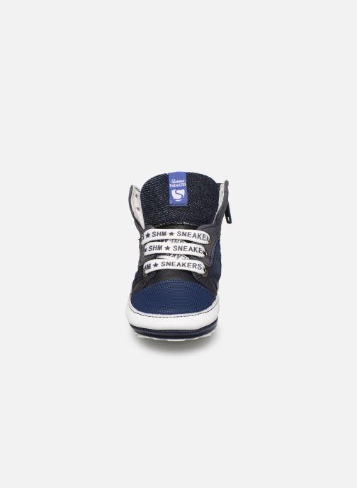 Deportivas Shoesme Baby-Proof smart Azul vista del modelo