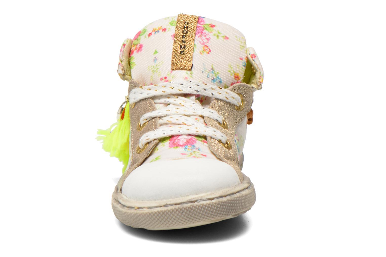 Baskets Shoesme Extreme Flex Beige vue portées chaussures