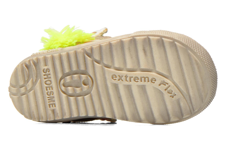 Baskets Shoesme Extreme Flex Beige vue haut