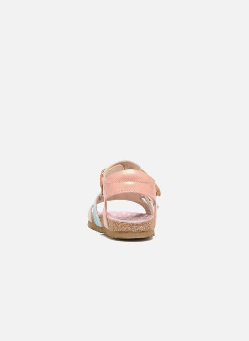Sandales et nu-pieds Shoesme Bio Sandaal Rose vue droite