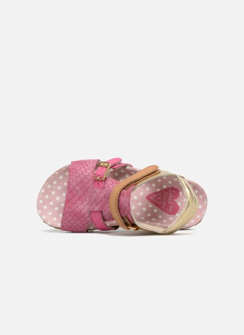 Sandals Shoesme Bio Sandaal Pink view from the left