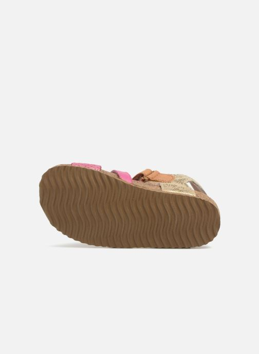 Sandals Shoesme Bio Sandaal Pink view from above