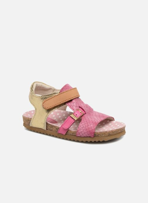 Sandals Shoesme Bio Sandaal Pink detailed view/ Pair view