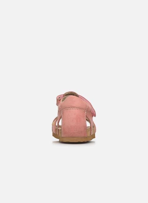 Sandalen Shoesme Bio Sandaal rosa ansicht von rechts