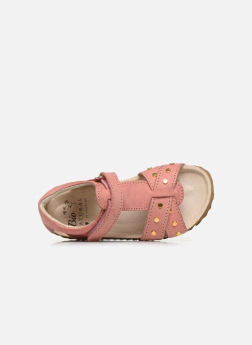 Sandalen Shoesme Bio Sandaal rosa ansicht von links