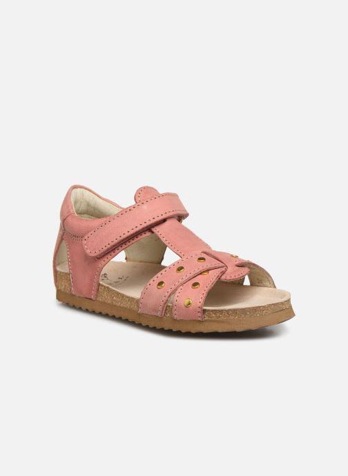 Sandales et nu-pieds Shoesme Bio Sandaal Rose vue détail/paire