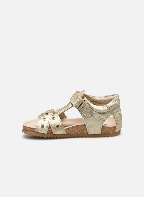 Sandali e scarpe aperte Shoesme Bio Sandaal Oro e bronzo immagine frontale