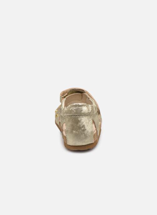 Sandalias Shoesme Bio Sandaal Oro y bronce vista lateral derecha