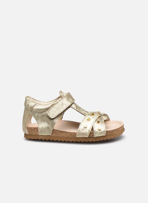Sandali e scarpe aperte Shoesme Bio Sandaal Oro e bronzo immagine posteriore
