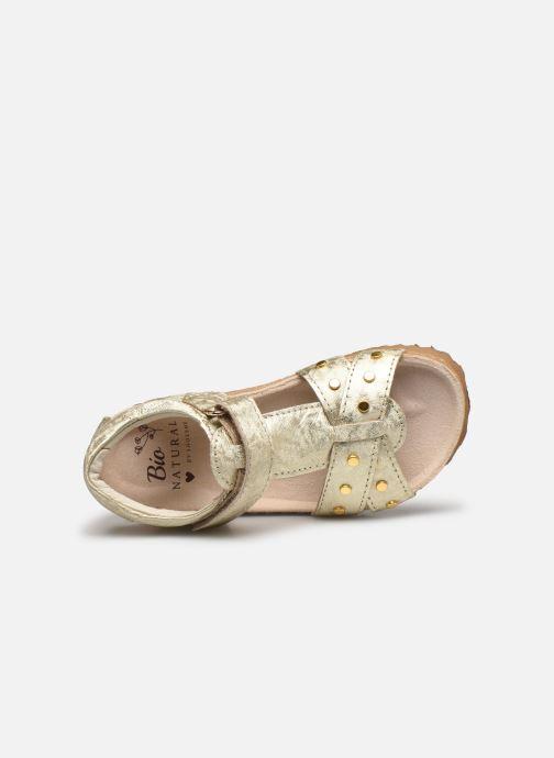 Sandali e scarpe aperte Shoesme Bio Sandaal Oro e bronzo immagine sinistra