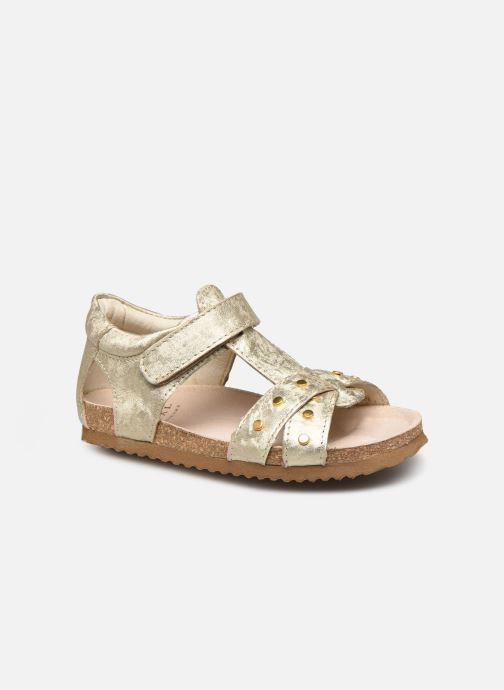 Sandales et nu-pieds Shoesme Bio Sandaal Or et bronze vue détail/paire