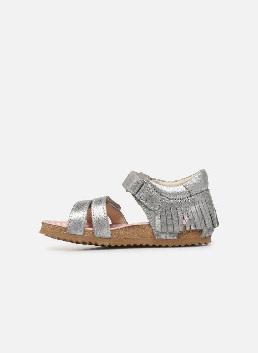 Sandalen Shoesme Bio Sandaal silber ansicht von vorne