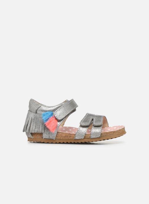 Sandalen Shoesme Bio Sandaal silber ansicht von hinten