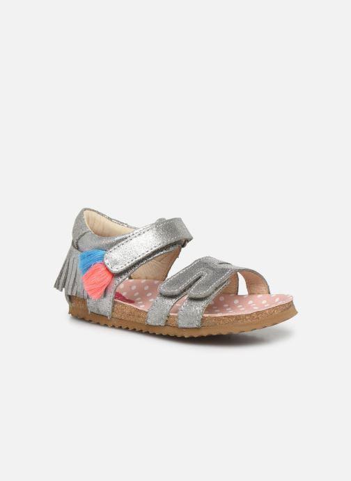 Sandales et nu-pieds Shoesme Bio Sandaal Argent vue détail/paire