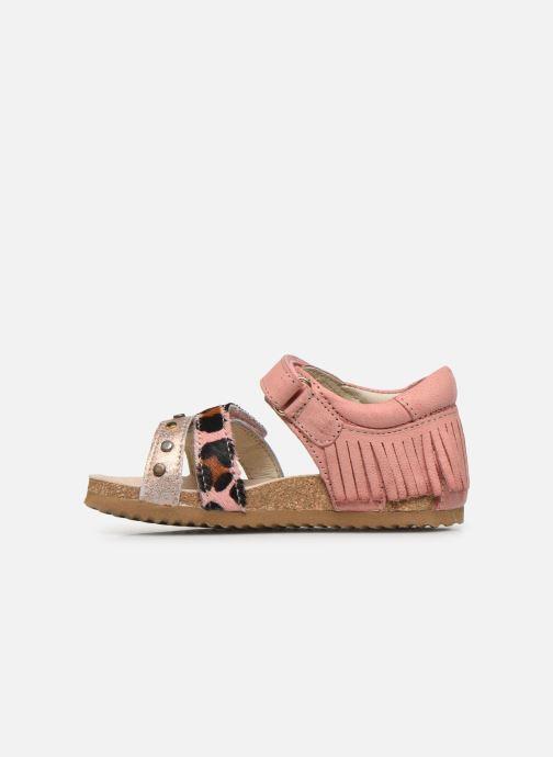 Sandales et nu-pieds Shoesme Bio Sandaal Rose vue face