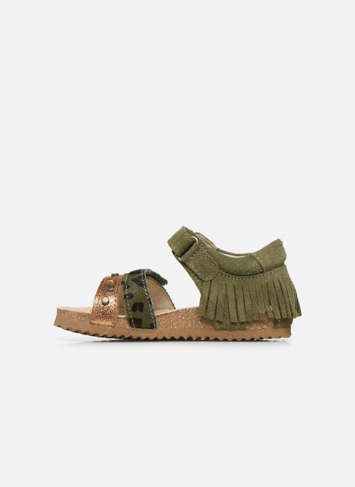 Sandales et nu-pieds Shoesme Bio Sandaal Vert vue face