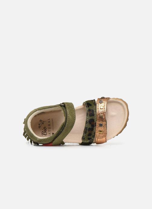 Sandalen Shoesme Bio Sandaal grün ansicht von links