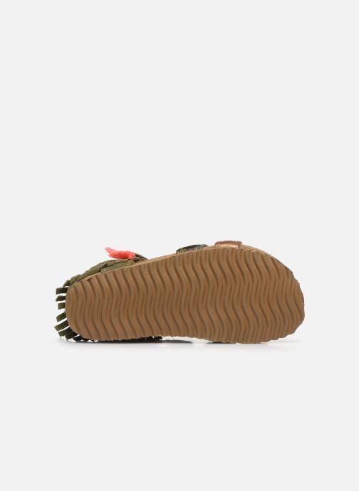 Sandalen Shoesme Bio Sandaal grün ansicht von oben